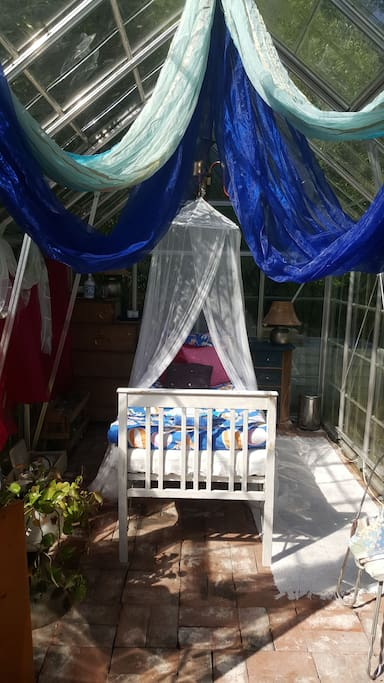 Mosquito net can be useful
