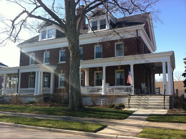 historic home room with priv. bath - Indianapolis - Bed & Breakfast