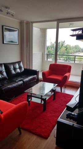 Departamento amoblado en barrio residencial - Penalolen - Appartement en résidence