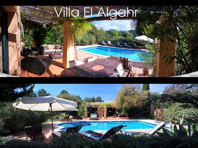 CHARMING VILLA WITH POOL AT CALA JONDAL - Eivissa - Maison de vacances