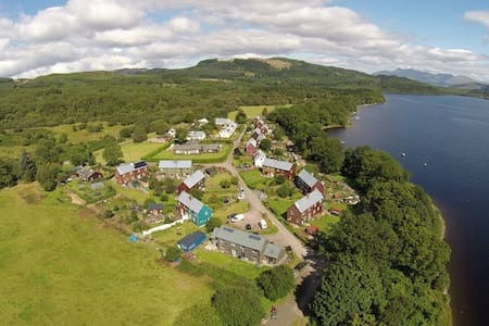 Spacious apartment, beautiful village by Loch Awe