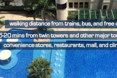 Comfy, Luxurious, Cheap, Convenient - Kuala Lumpur - Condominium