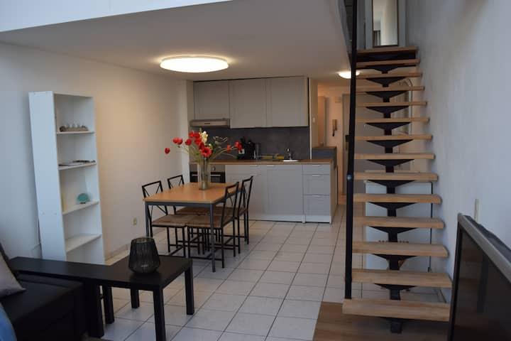 Duplex studio in centrum Antwerpen