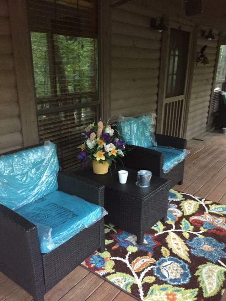 Cabin at PickWick Dam/Lake