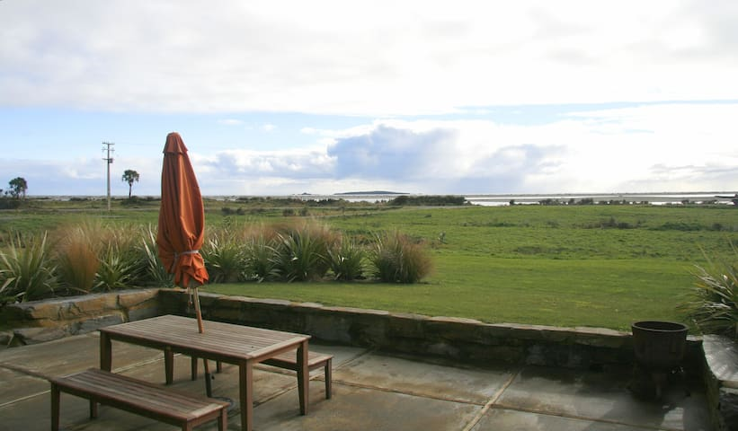 Stunning sea views from every room  - Haast