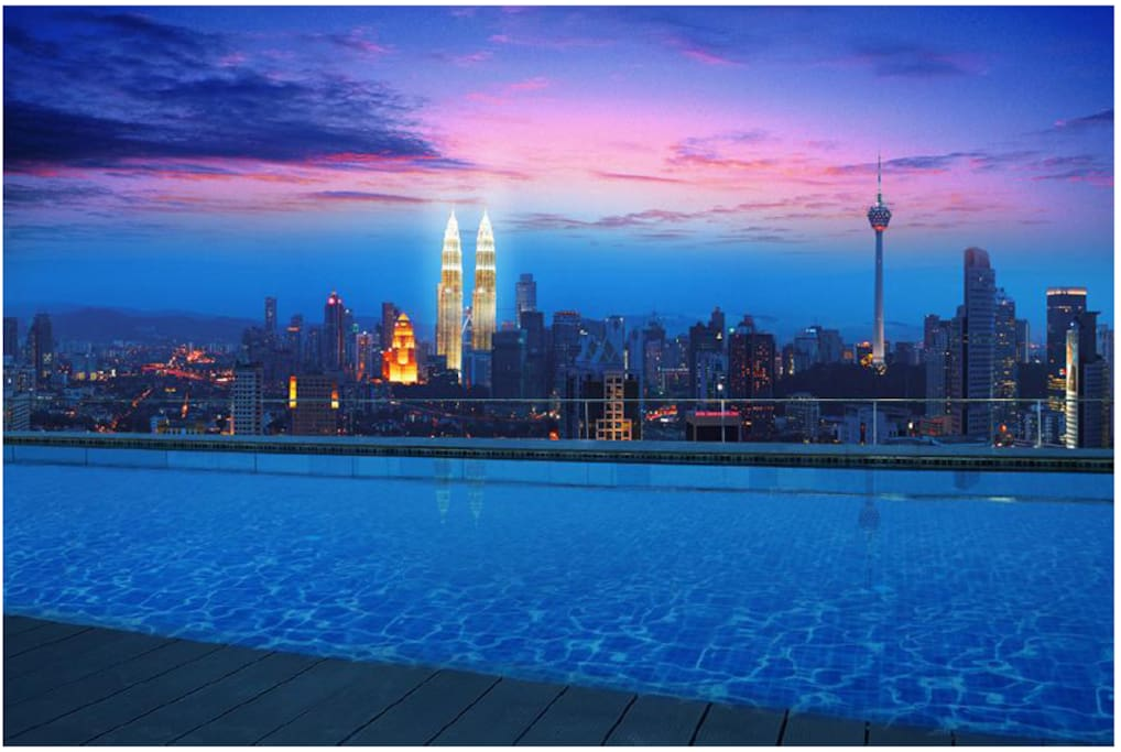 Rooftop with KLCC view
