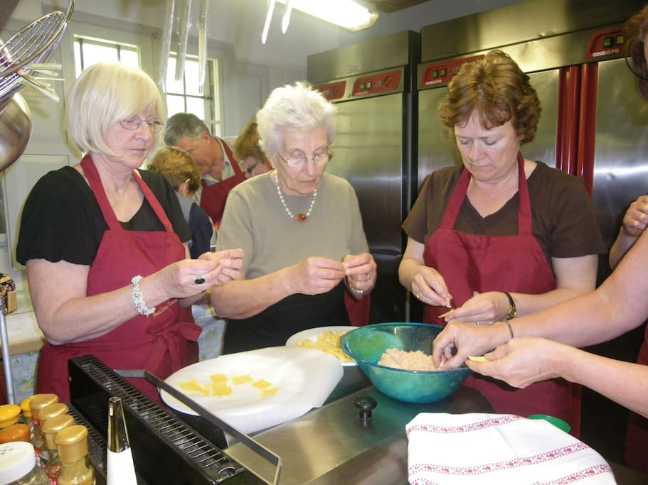 Hands-on cooking lessons with overnight stay at Villa Venezze