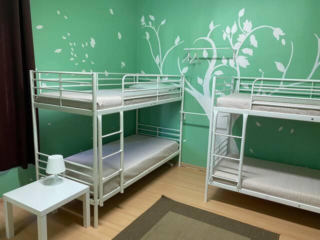 Quarto Verde - Dormitório Feminino  V1