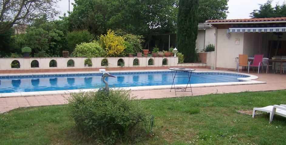 T4 avec piscine à Toulouse - Seilh - Apartamento