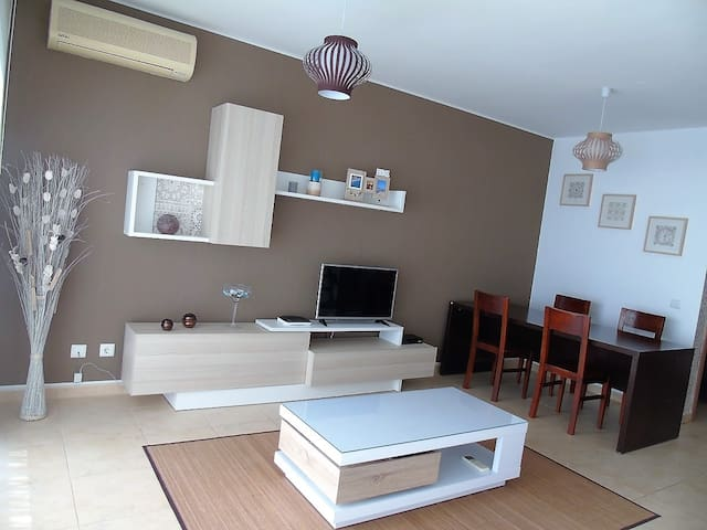2 bedroom apartment close to the beach with pool