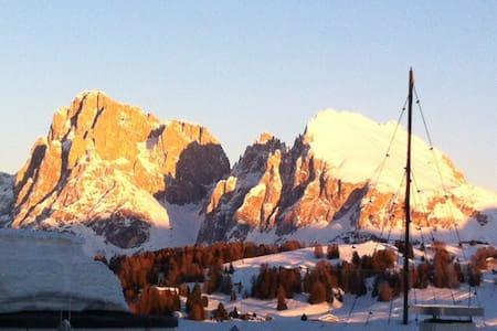 ALPE DI SIUSI BEST VIEW APARTMENT - Alpe di Siusi - 公寓