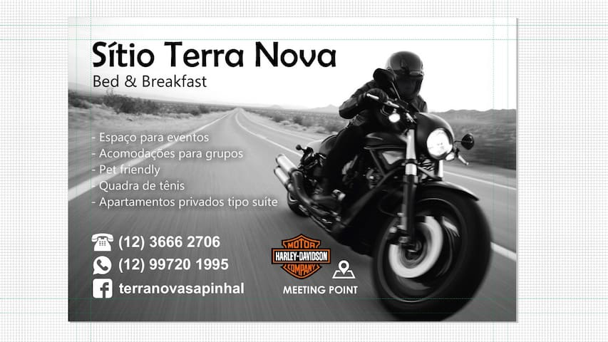Sitio Terra Nova B&B (Hostel/Tennis)