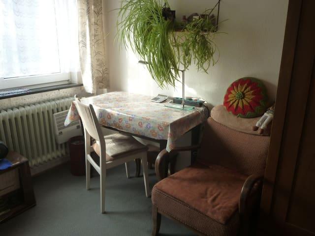 ex-Jugend-Zimmer im Retro-Style-Haus bei Darmstadt - Mühltal - Rumah