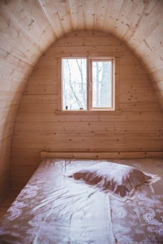 Bedroom (Double bed).