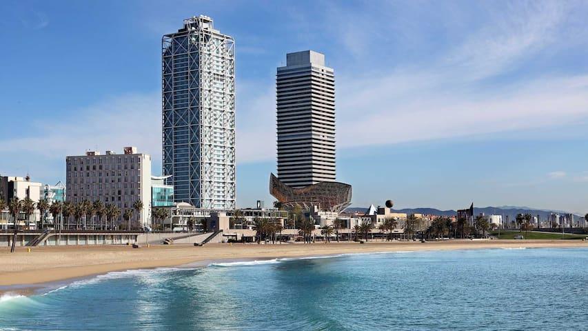 Ciutadella-vila olimpica beach 1 - Barcelona