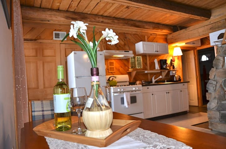 Cozy Log Home Apartment  - Croydon - Pis