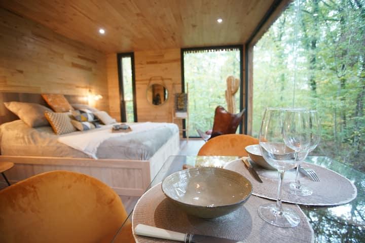 Suite avec terrasse & Spa privé « Lively Branch »