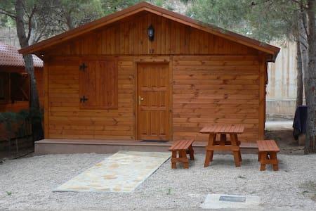 bungalow de madera  - Albarracín - Stuga