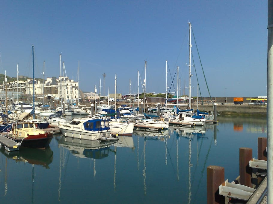 Explore the beautiful Dover Marina and seafront  - a breath of fresh air...