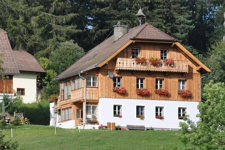 Ein Bauernhof im Salzburger Lungau