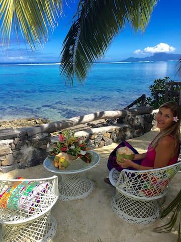 Faré MIRO bord de mer Punaauia Pk 17.0 TAHITI - Puna'auia