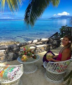 Faré MIRO bord de mer Punaauia Pk 17.0 TAHITI - Puna'auia - Casa