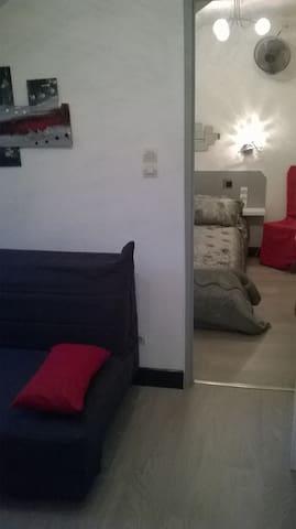 Studio coquet tout confort avec wifi - Bagnères-de-Luchon