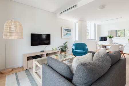 New Stylish City and Beach Apartment