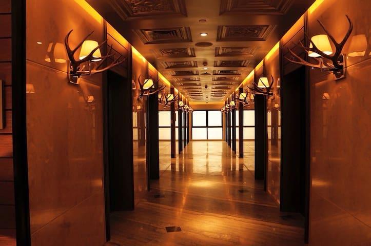 Hallway and Elevators