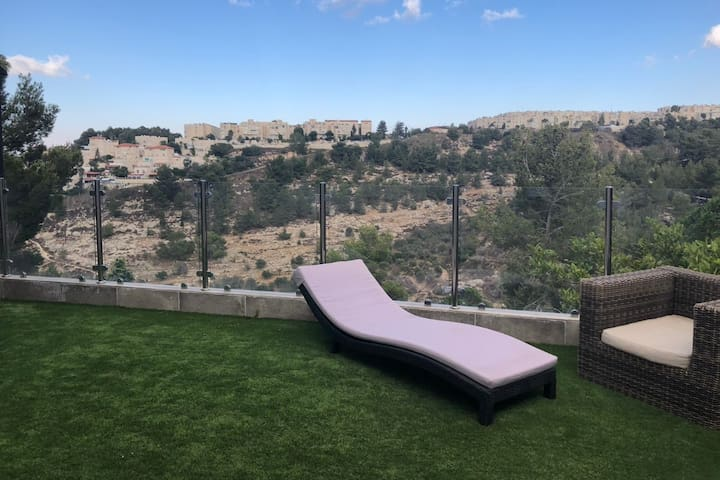 Apartment with incredible view in Jerusalem