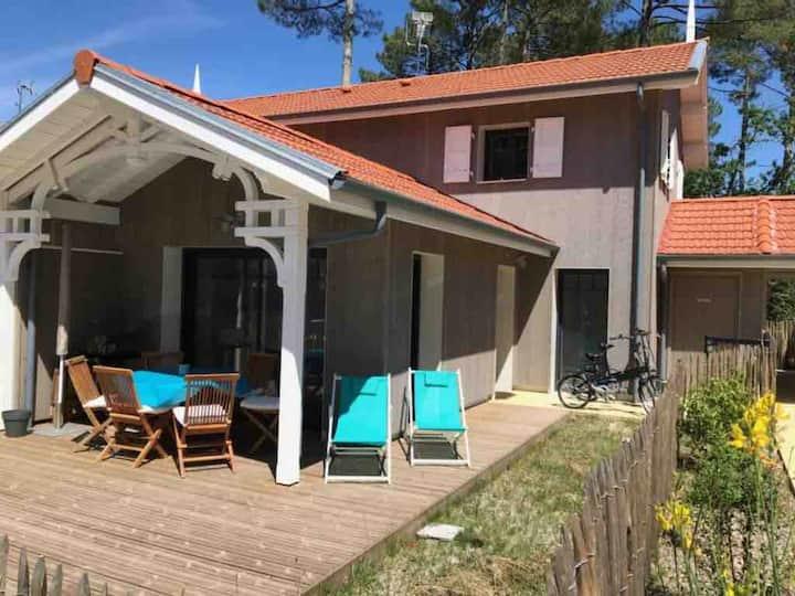 Maison entre Le Pyla et Arcachon, piscine commune