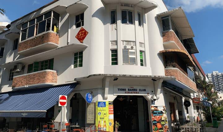 Tiong bahru Heritage Balcony window *Rm1 near SGH