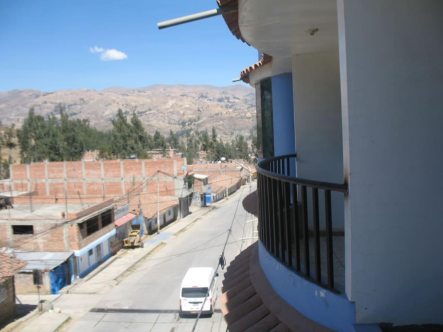 Panoramic Balcony of the Hostel