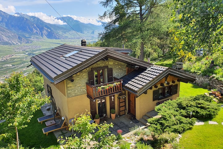 Cozy chalet, superb views, fast WiFi, pet-friendly