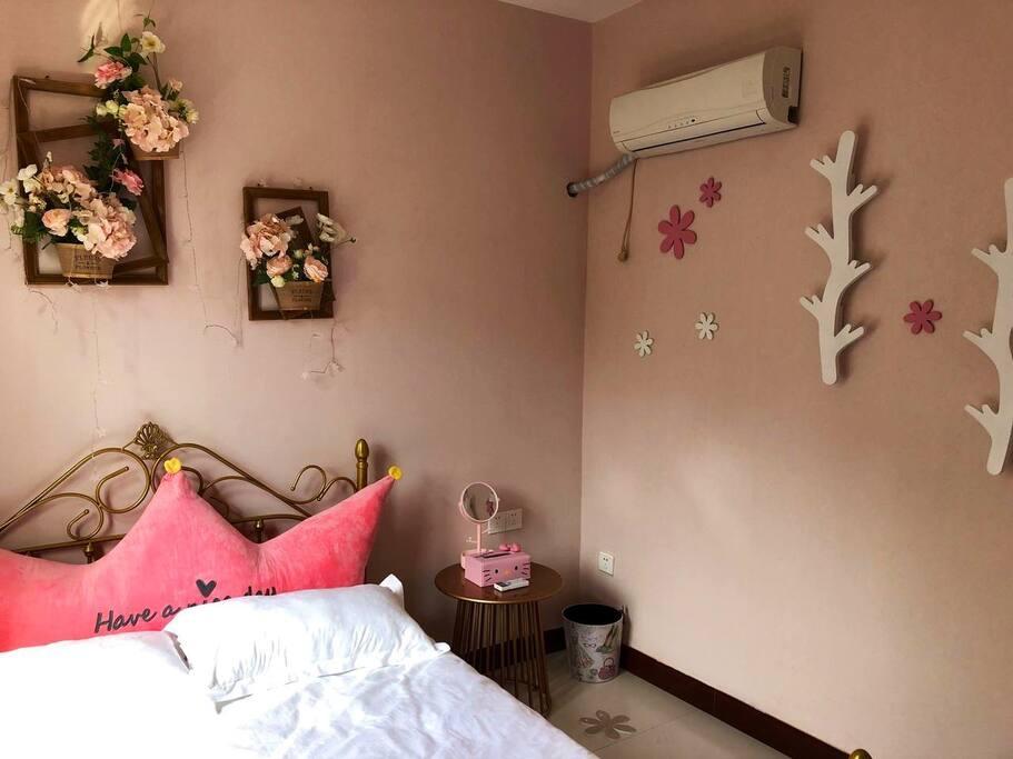 卧室配有空调