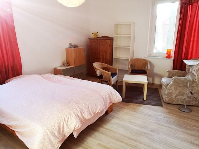 big bedroom in WG - Göttingen - Leilighet
