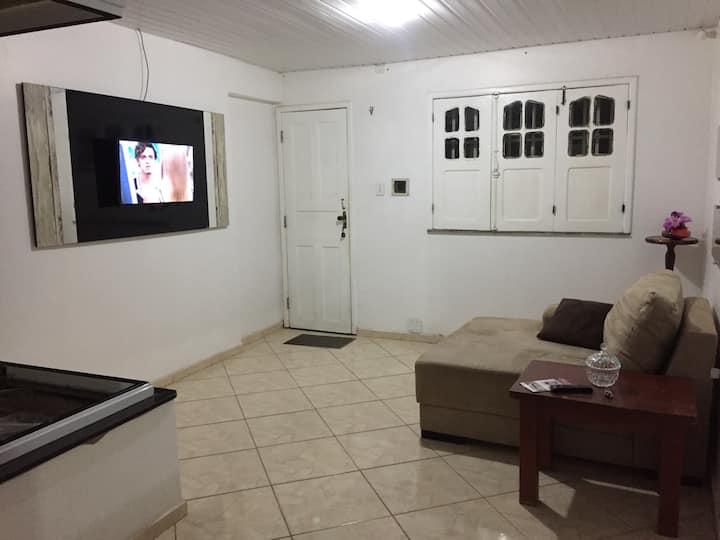 Casa de um quarto no Monte Castelo com Wi-Fi