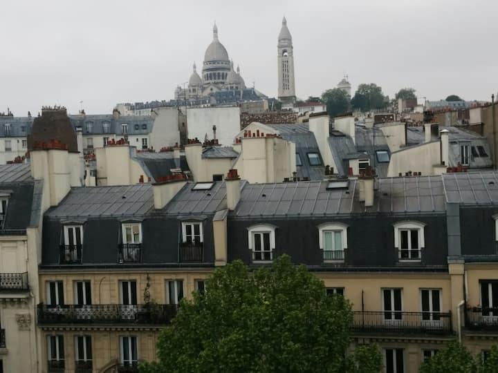 Deux-pièces Paris 18ème
