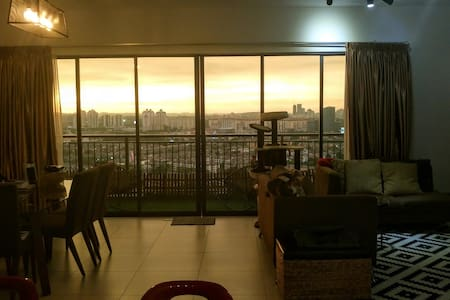 Amazing View from a Cosy Condo - Puchong - Departamento