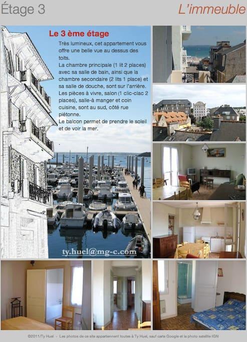 appartement 3éme étage