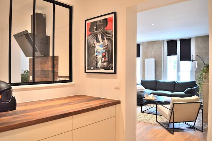 Wonderful apartment in Caen city center