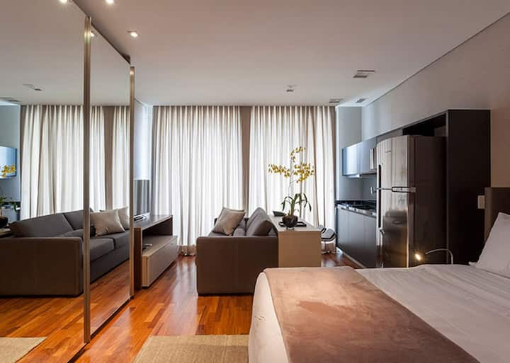 Luxury Serviced Apartment in Vila Olimpia