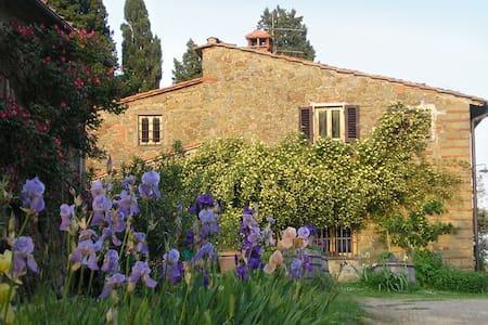 Poggio Pratelli  bio farmhouse in tuscany - Poggio Alla Croce - Wohnung