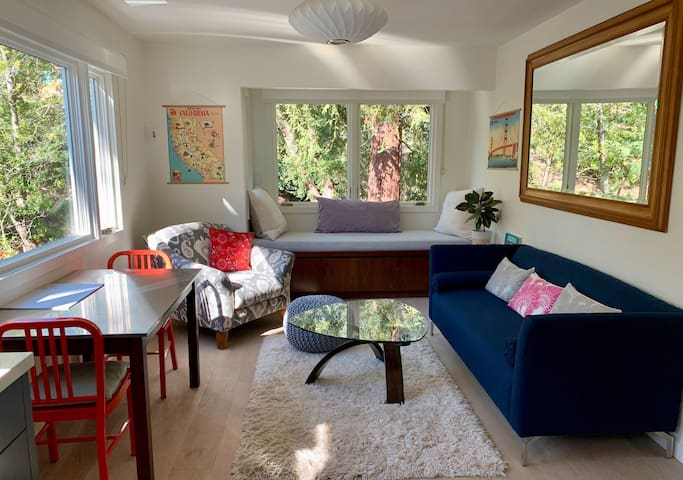Modern Quiet Mill Valley Getaway near downtown