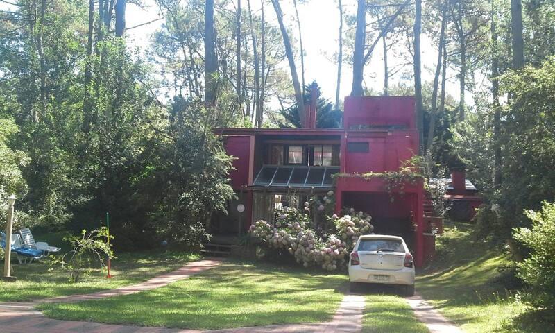 Casa Luminosa en el bosque
