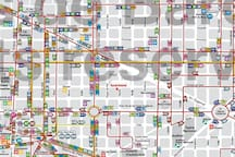 Bus lines in proximity