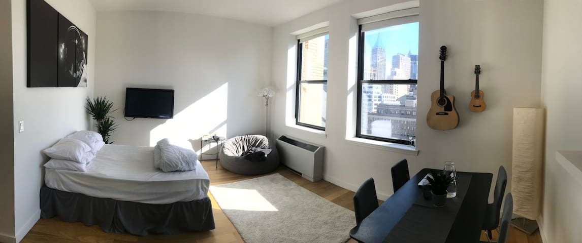 Gorgeous lower Manhattan studio for Xmas sublet