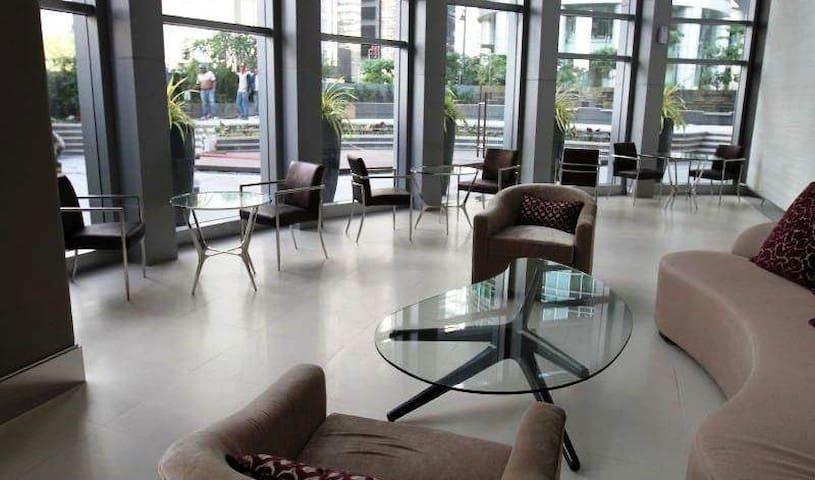 Spacious main lobby