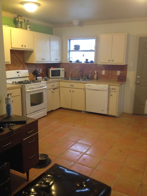 Recently renovated kitchen with new appliances and plenty of counter space.