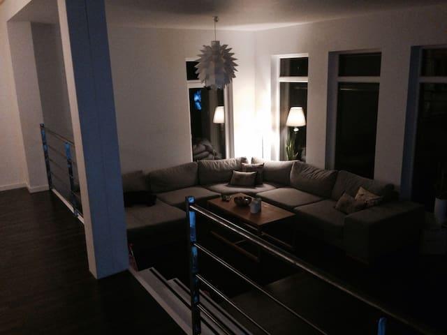 Big Villa,7 beds,Sauna,10min-Elmia - Jönköping - Huis